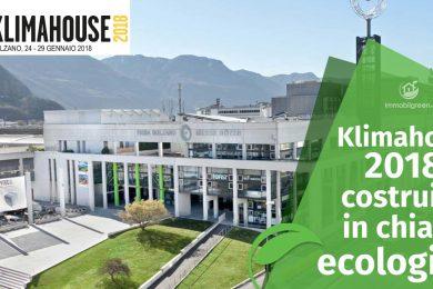 Fiera Klimahouse 2018 Bolzano