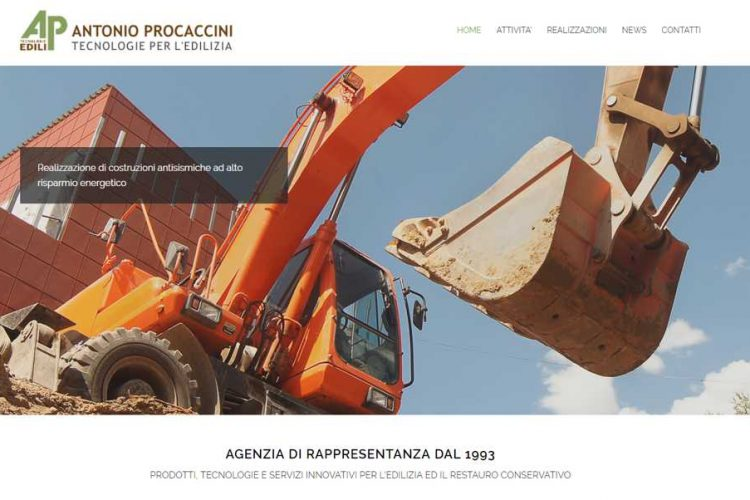 Nuovo sito web on-line